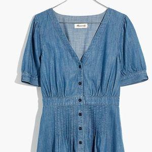 Madewell Daylily chambray dress size 18